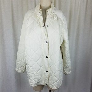 LRL Ralph Lauren Quilted Jacket Womens 2X Plus